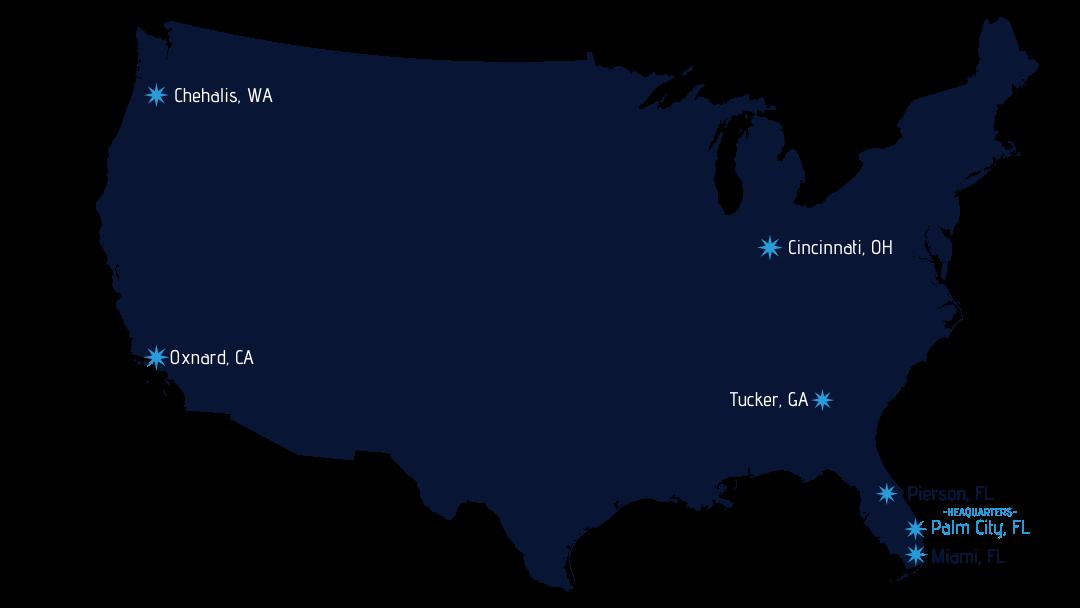 Terminal Locations